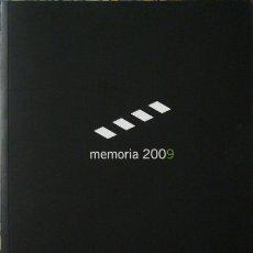 Libros de segunda mano: ACADEMIA DE CINE ESPAÑOL - MEMORIA 2009. Lote 176687767