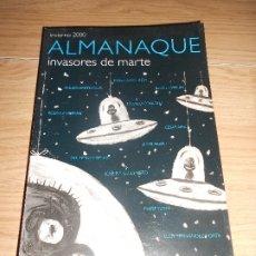 Libros de segunda mano: ALMANAQUE INVIERNO 2000 / INVASORES DE MARTE - JAVIER CALVO. Lote 176689088
