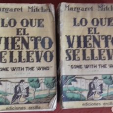 Libros de segunda mano: LO QUE EL VIENTO SE LLEVÓ. AÑO 1940.. Lote 176826397