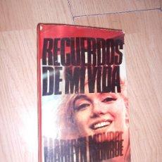 Libros de segunda mano: MARILYN MONROE - RECUERDOS DE MI VIDA. Lote 176965243