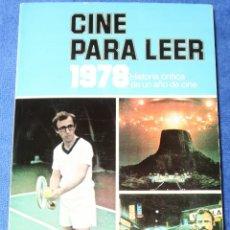 Libros de segunda mano: CINE PARA LEER - 1978 - EDITORIAL MENSAJERO (1979). Lote 177017979