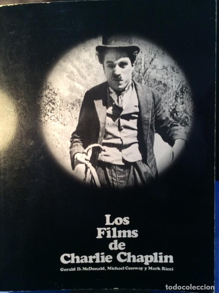 Libros de segunda mano: LOS FILMS DE CHARLIE CHAPLIM - AÑO 1975 - (VER FOTOS) - Foto 2 - 177040883