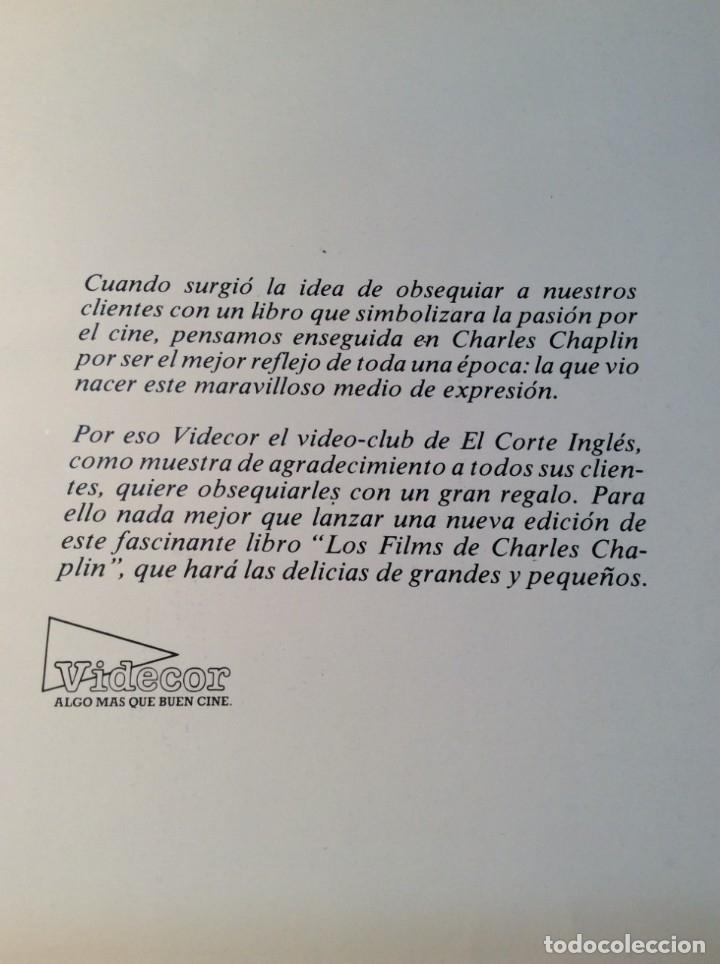 Libros de segunda mano: LOS FILMS DE CHARLIE CHAPLIM - AÑO 1975 - (VER FOTOS) - Foto 5 - 177040883