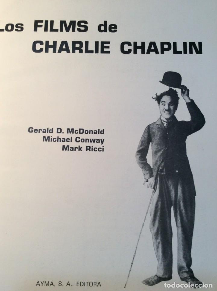 Libros de segunda mano: LOS FILMS DE CHARLIE CHAPLIM - AÑO 1975 - (VER FOTOS) - Foto 7 - 177040883