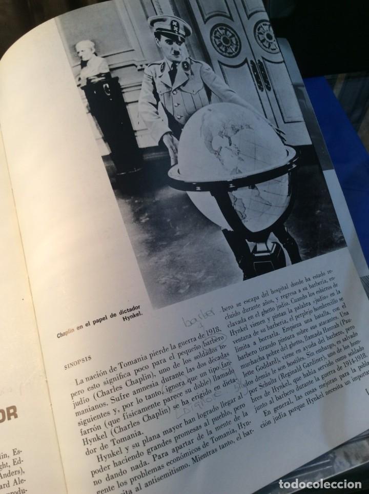 Libros de segunda mano: LOS FILMS DE CHARLIE CHAPLIM - AÑO 1975 - (VER FOTOS) - Foto 10 - 177040883