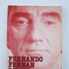 Libros de segunda mano: DIEGO GALÁN Y ANTONIO LLORÉNS. FERNANDO FERNÁN GÓMEZ. VALENCIA: FERNANDO TORRES EDITOR, 1984. Lote 177471755
