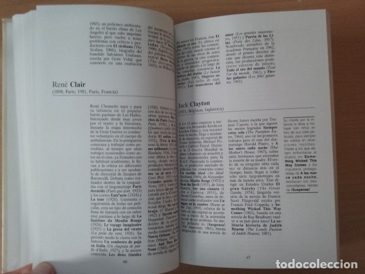 Libros de segunda mano: DICCIONARIO DE DIRECTORES DE CINE - AUGUSTO M. TORRES (EDICIONES DEL PRADO) - Foto 10 - 177488144