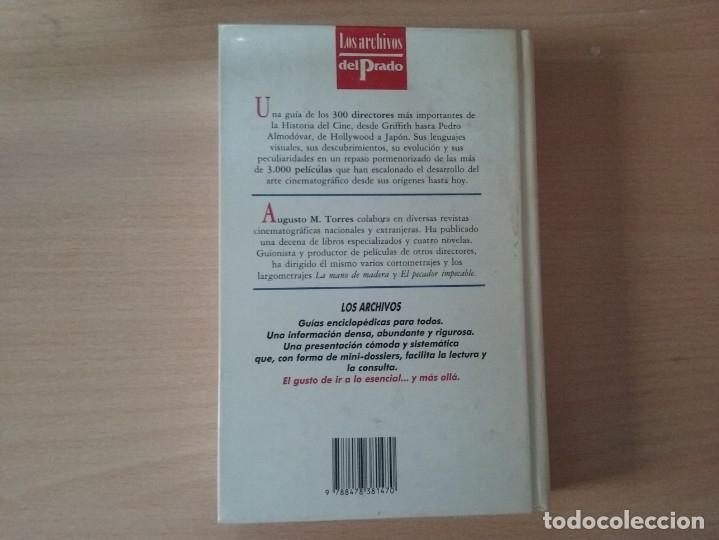 Libros de segunda mano: DICCIONARIO DE DIRECTORES DE CINE - AUGUSTO M. TORRES (EDICIONES DEL PRADO) - Foto 11 - 177488144