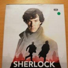 Libros de segunda mano: SHERLOCK CHRONICLES (WRITTEN BY STEVE TRIBE) BBC BOOKS. Lote 177664362