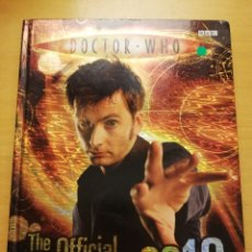 Livres d'occasion: DOCTOR WHO. THE OFFICIAL ANNUAL 2010 (BBC). Lote 177664508