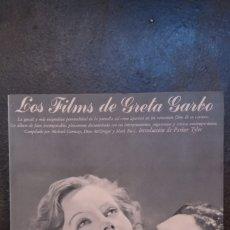 Libros de segunda mano: MICHAEL CONWAY, DION MCGREGOR Y MARK RICCI: LOS FILMS DE GRETA GARBO. Lote 177803872