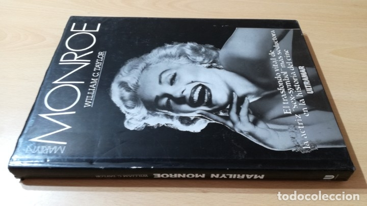 Libros de segunda mano: MARILYN MONROE - WILLIAM C TAYLOR - ULTRAMAR - Foto 3 - 177977862