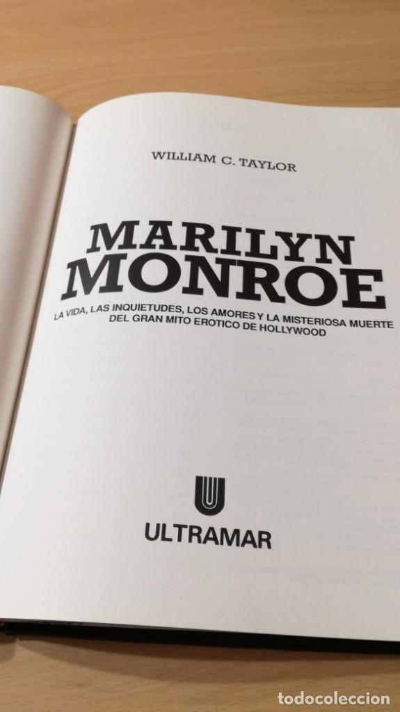 Libros de segunda mano: MARILYN MONROE - WILLIAM C TAYLOR - ULTRAMAR - Foto 8 - 177978207
