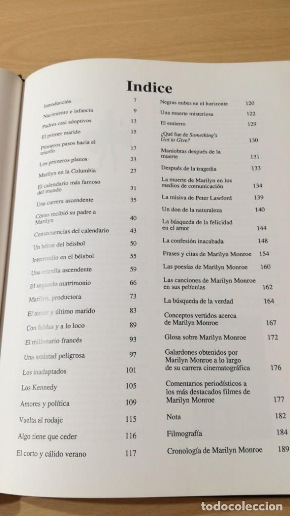 Libros de segunda mano: MARILYN MONROE - WILLIAM C TAYLOR - ULTRAMAR - Foto 11 - 177978207