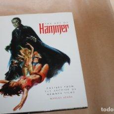 Libros de segunda mano: THE ART OF HAMMER, CARTELES CINE DE TERROR, COMO NUEVO. Lote 178034703