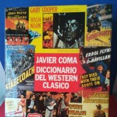 Libros de segunda mano: DICCIONARIO DEL WESTERN CLÁSICO / JAVIER COMA / PLAZA Y JANÉS, 1993. Lote 178281542
