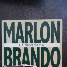 Libros de segunda mano: RICHARD SCHICKEL: MARLON BRANDO. BIOGRAFÍA. Lote 178561908