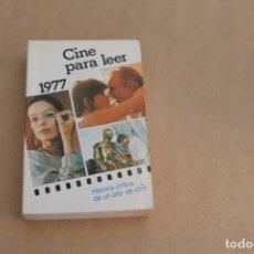 Libros de segunda mano: CINE PARA LEER AÑO 1977, EDICIONES MENSAJERO. Lote 179073222