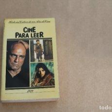 Libros de segunda mano: CINE PARA LEER AÑO 1979, EDICIONES MENSAJERO. Lote 179073273
