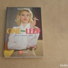 Libros de segunda mano: CINE PARA LEER JULIO-DICIEMBRE 2006, EDICIONES MENSAJERO. Lote 179073452