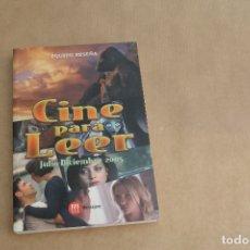 Libros de segunda mano: CINE PARA LEER JULIO-DICIEMBRE 2005, EDICIONES MENSAJERO. Lote 179073540