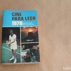 Libros de segunda mano: CINE PARA LEER 1978, EDICIONES MENSAJERO. Lote 179073648