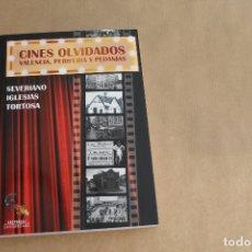 Libros de segunda mano: CINES OLVIDADOS VALENCIA, PERIFERIA Y PEDANÍAS, EDITORIAL SARGANTANA, DE SEVERINO IGLESIAS. Lote 179073955