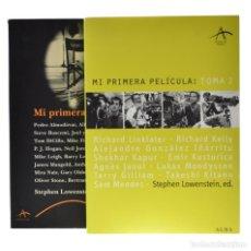 Libros de segunda mano: MI PRIMERA PELÍCULA / MI PRIMERA PELÍCULA: TOMA 2 - LOWENSTEIN, STEPHEN (ED.). Lote 179127182