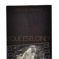 Libros de segunda mano: ¿QUÉ ES EL CINE? - BAZIN, ANDRÉ. Lote 179127185