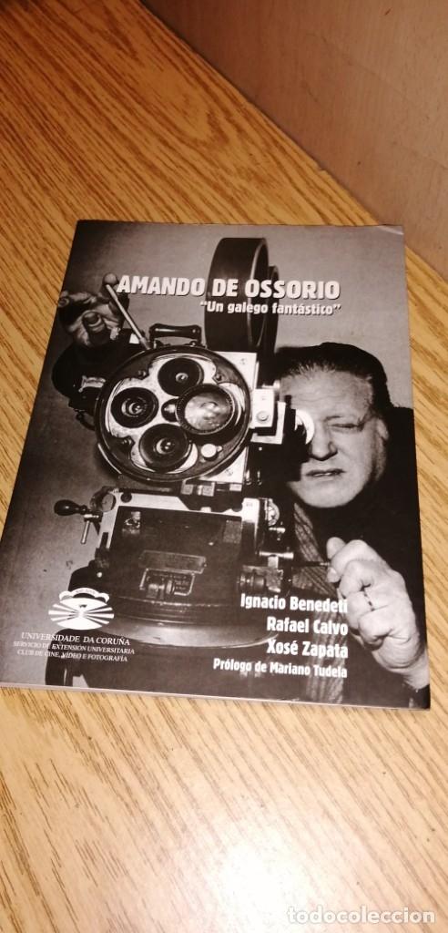 AMANDO DE OSSORIO: UN GALEGO FANTÁSTICO (Libros de Segunda Mano - Bellas artes, ocio y coleccionismo - Cine)
