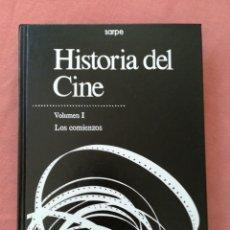 Libros de segunda mano: HISTORIA DEL CINE - LOS COMIENZOS - SARPE. Lote 179101676