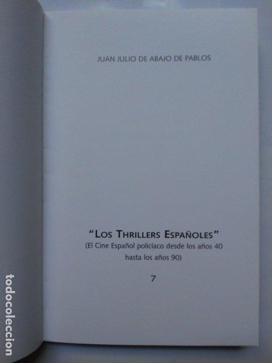 Libros de segunda mano: Los Thrillers Españoles 7 Juan Julio de Abajo de Pablos Fancy Ediciones - Foto 4 - 179548515