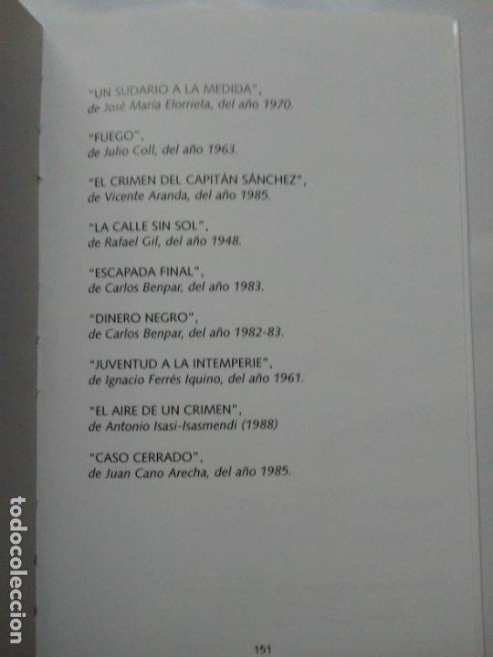 Libros de segunda mano: Los Thrillers Españoles 7 Juan Julio de Abajo de Pablos Fancy Ediciones - Foto 7 - 179548515