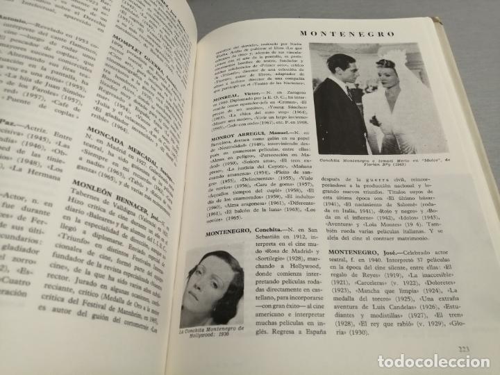 Libros de segunda mano: DICCIONARIO DEL CINE ESPAÑOL (1896 - 1968) / FERNANDO VIZCAÍNO CASAS / EDITORA NACIONAL 1970 - Foto 3 - 180409828