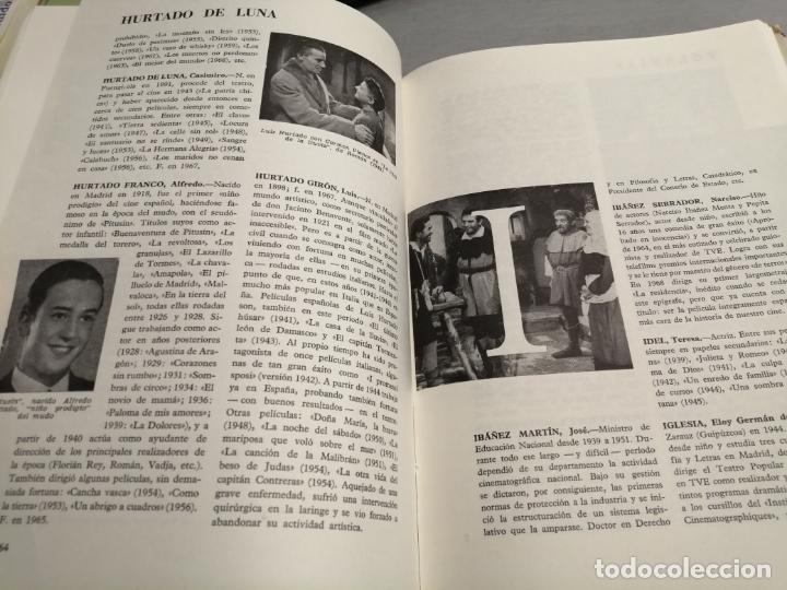 Libros de segunda mano: DICCIONARIO DEL CINE ESPAÑOL (1896 - 1968) / FERNANDO VIZCAÍNO CASAS / EDITORA NACIONAL 1970 - Foto 4 - 180409828