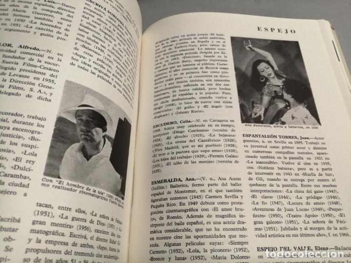 Libros de segunda mano: DICCIONARIO DEL CINE ESPAÑOL (1896 - 1968) / FERNANDO VIZCAÍNO CASAS / EDITORA NACIONAL 1970 - Foto 5 - 180409828