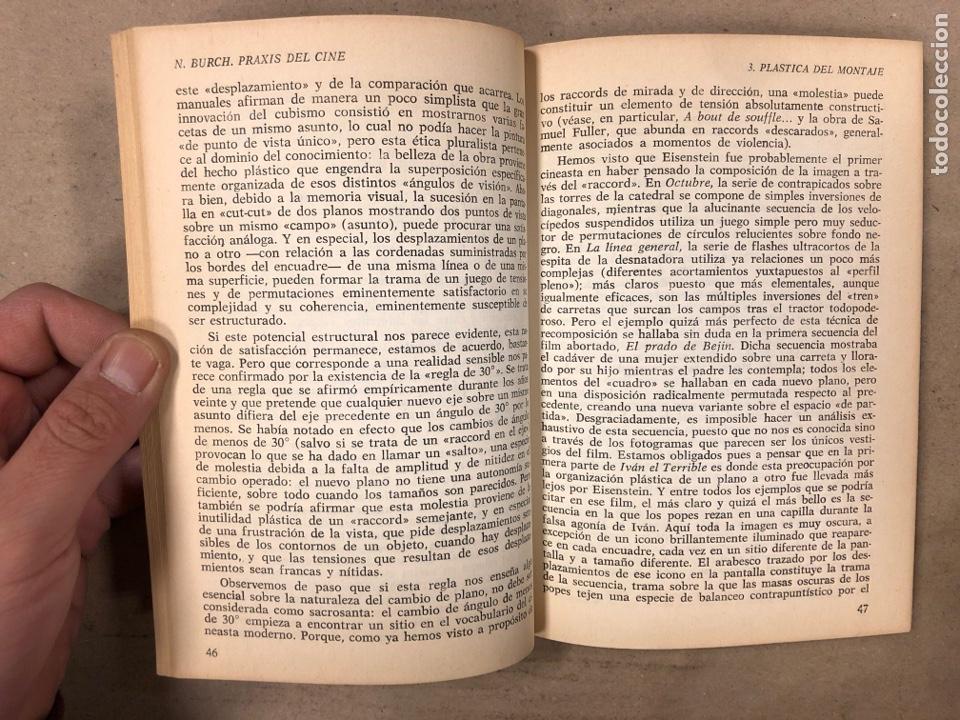 Libros de segunda mano: PRAXIS DEL CINE. NOËL BURCH. EDITORIAL FUNDAMENTOS 1970. 188 PÁGINAS. - Foto 4 - 180429055