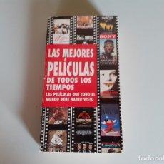 Libros de segunda mano: LAS MEJORES PELÍCULAS DE TODOS LOS TIEMPOS. SONY. BUEN ESTADO. RÚSTICA. Lote 180433735