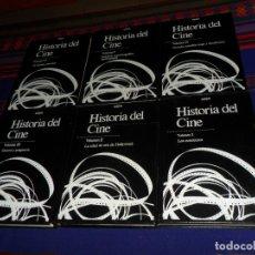 Libros de segunda mano: BUEN PRECIO, HISTORIA DEL CINE VOLUMEN I II III IV V VI COMPLETA. SARPE 1984. MUY BUEN ESTADO.. Lote 180457582