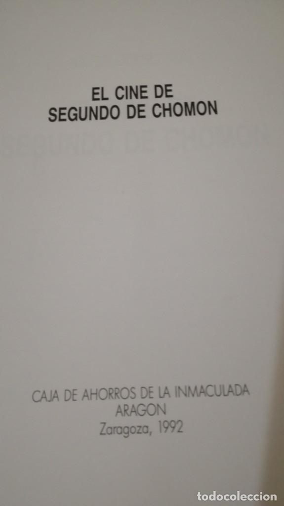 Libros de segunda mano: EL CINE DE CHOMON - AGUSTIN SANCHEZ VIDAL - Foto 4 - 180495258