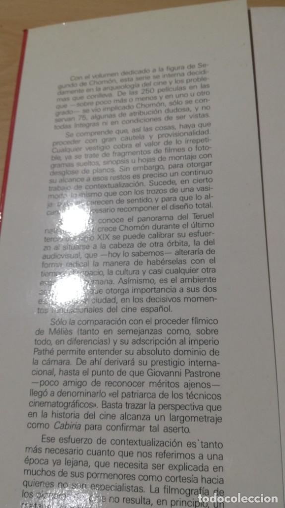 Libros de segunda mano: EL CINE DE CHOMON - AGUSTIN SANCHEZ VIDAL - Foto 5 - 180495258