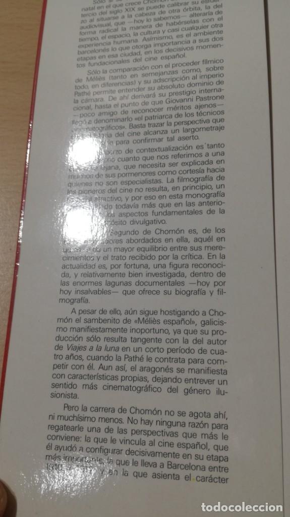 Libros de segunda mano: EL CINE DE CHOMON - AGUSTIN SANCHEZ VIDAL - Foto 6 - 180495258
