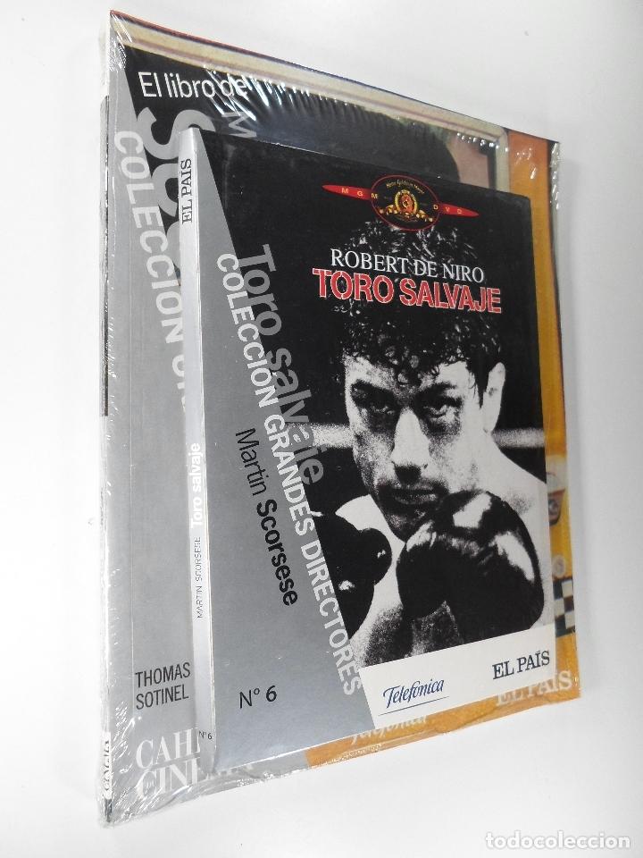 COLECCIÓN GRANDES DIRECTORES TORO SALVAJE ROBERT DE NIRO MARTÍN SCORSESE NÚMERO 6 - EL PAÍS (Libros de Segunda Mano - Bellas artes, ocio y coleccionismo - Cine)
