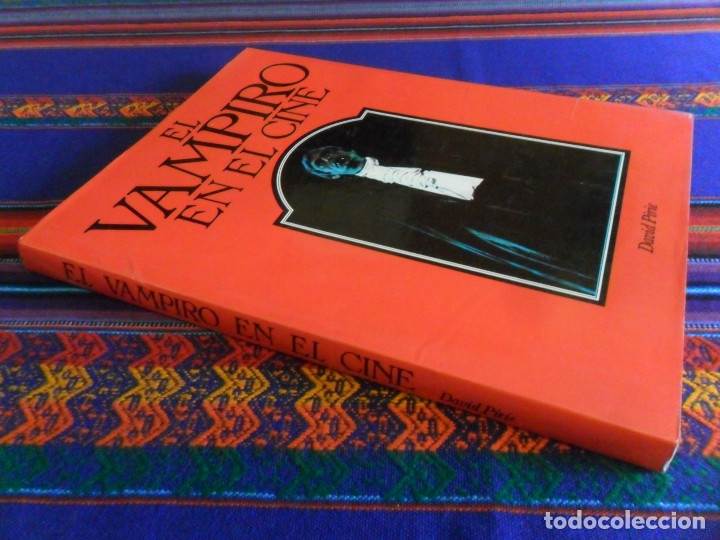EL VAMPIRO EN EL CINE POR DAVID PIRIE. CÍRCULO DE LECTORES 1977. TAPA DURA CON SOBRECUBIERTAS. BE. (Libros de Segunda Mano - Bellas artes, ocio y coleccionismo - Cine)