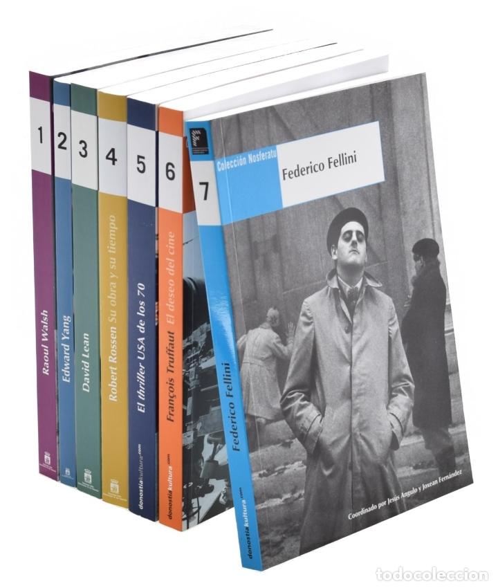 NOSFERATU LIBROS 1-7: WALSH-YANG-LEAN-ROSSEN-THRILLER USA 70-TRUFFAUT-FELLINI (Libros de Segunda Mano - Bellas artes, ocio y coleccionismo - Cine)