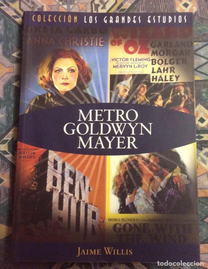 METRO GOLDWYN MAYER. JAIME WILLIS COL. GRANDES ESTUDIOS. T&B EDITORES (Libros de Segunda Mano - Bellas artes, ocio y coleccionismo - Cine)