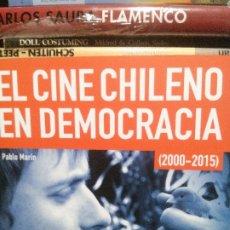 Libros de segunda mano: EL CINE CHILENO EN DEMOCRACIA, PABLO MARÍN, 2000-2015, SEMINCI VALLADOLID, 61 SEMANA INTERNACIONAL . Lote 182841190