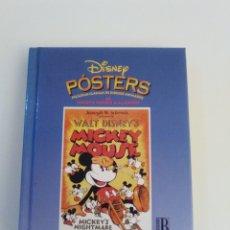 Libros de segunda mano: DISNEY POSTERS WALT DISNEY ( 1996 EDICIONES B ) 128 PAGINAS 12 X 14 CMS MUY BUEN ESTADO. Lote 183347301