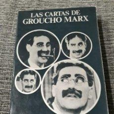 Libros de segunda mano: LAS CARTAS DE GROUCHO MARX - ANAGRAMA, 1975 / CINEMATECA ANAGRAMA. Lote 183450213