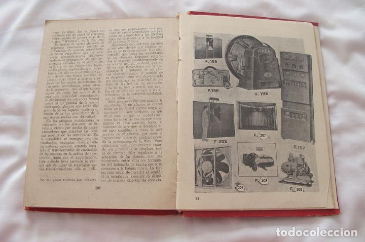 Libros de segunda mano: MANUAL DEL OPERADOR CINEMATROGRAFICO 1948 1ª EDICIÓN BRUGUERA - Foto 4 - 183691396